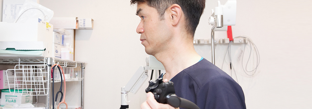 胃内視鏡検査の流れ